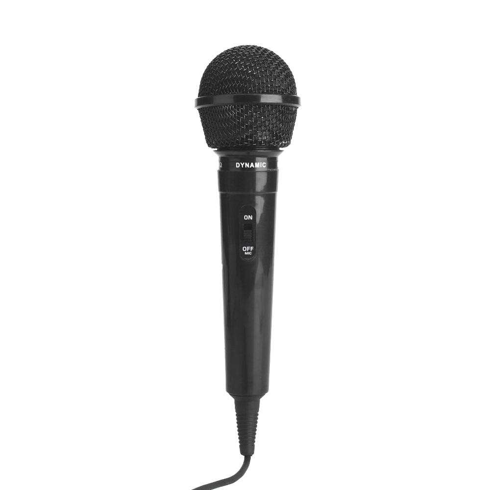 Wired Microphone Protable Megaphone Public Speaking Stage Performance Black 6.3 mm Party KTV Recording Universal Transmitter