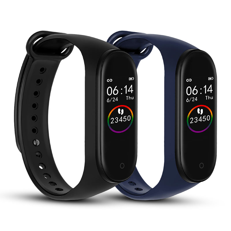 M4 Smart band 4 Fitness Tracker Watch Sport bracelet Heart Rate Blood Pressure Smartband Monitor Health Wristband Pedometer image