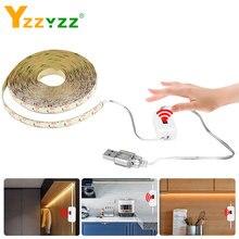 5V USB Hand Sweep Sensor LED Strip Light Flexible Diode Tape