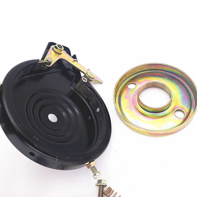 Steel Brake Black Rear Drum Brake For Dolphin Electric Scooter Durable.