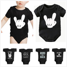 Baby Romper Jumpsuit Outfits Clothing Costumes Mouse Body-Future Rock-Out Newborn Infant