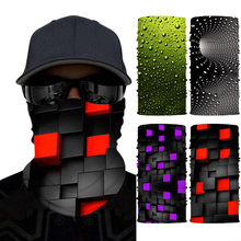 3D print Headwear Scarf Outdoor Cycling Windproof Anti-Dust Warm Face Mask Multi-functional Sunscreen Bandana unisex adult 2020(China)