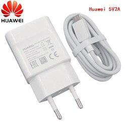 HUAWEI Original 5v 2a EU зарядное устройство + micro адаптер usb tpye c для nova 3i 2i honor 8x 7c p6 p7 p8 p9 p10 lite mate 7 8 9 10 S Y6