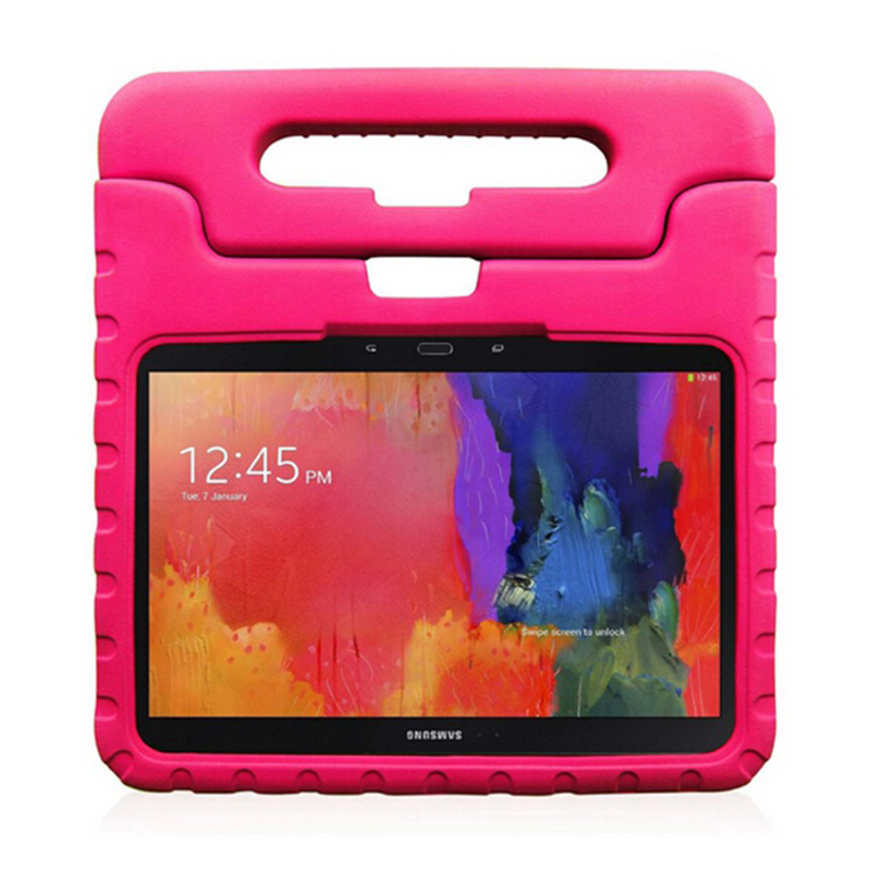 Kids EVA Shockproof Cover For Samsung Galaxy Tab 3 10.1 P5200 <font><b>P5210</b></font> <font><b>Case</b></font> Protective <font><b>Case</b></font> Child Stand for Samsung Tab 4 10.1 T530 image