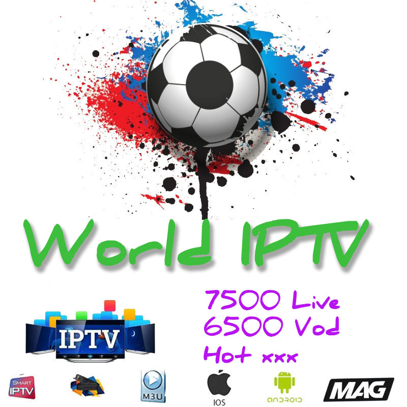 1 Year Europe US UK Brazil Poland Spain French IPTV Subscription 7500+Live France HD IPTV M3u Enigma2 Vod Sports Adult Free Test