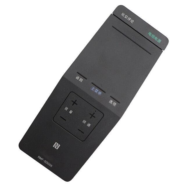 Nowy oryginalny 1 sztuk chińskich klawiszy RMF SD005 dla Sony RMFSD005 dla W950B W850B W800B 700B 70W855B TV Touchpad