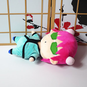 Image 5 - 1 Cái Mới Hoạt Hình Saiki Kusuo Không Nan Teruhashi Kokomi Anime Sang Trọng Búp Bê Đồ Chơi Cosplay Mềm Đồ Chơi Trẻ Em Quà Tặng Mềm Mại vỏ Gối Ôm