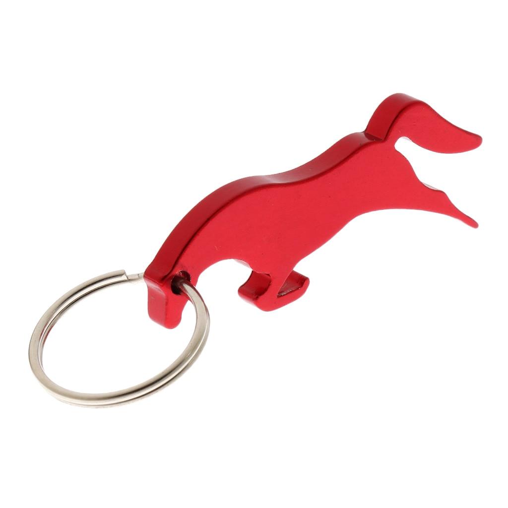 Aluminum Running Horse Pattern Bottle Opener / Key Ring Bag Pendent - 3 Colors