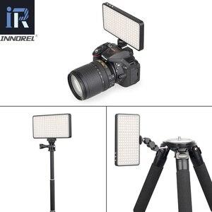 Image 5 - RL03 LED Video Light Vlog Dimmable Photographic Lighting Lamp for Canon Nikon Pentax DSLR Cameras Mobilephone Charging Treasure