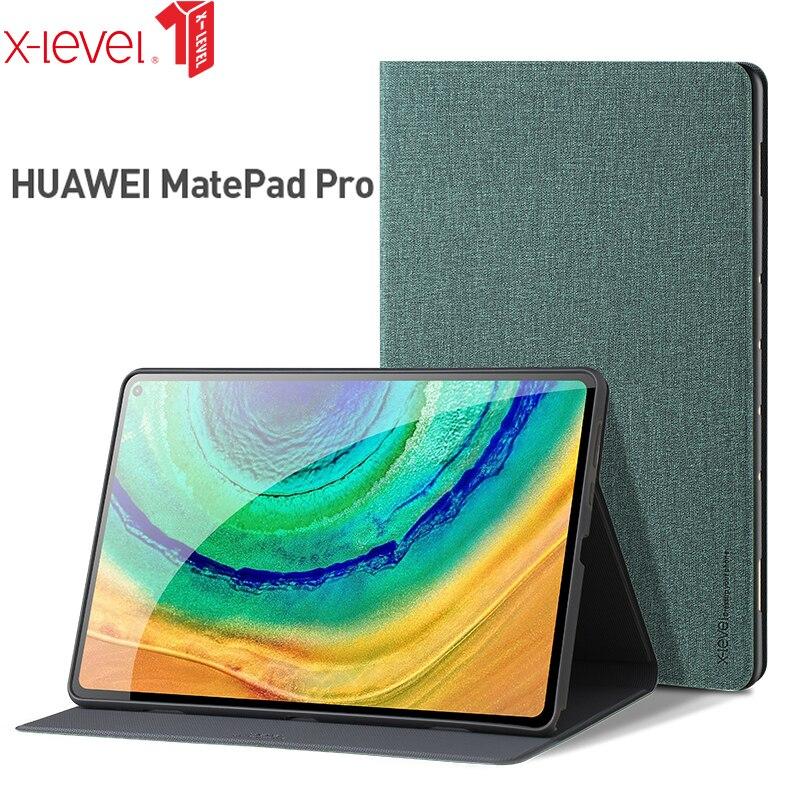 X-Level чехол для планшета из искусственной кожи для Huawei Matepad Pro 10,8 дюймов, умный флип-чехол для Huawei Matepad 10,4, чехол