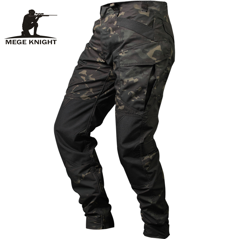 Mege Quality Spring Tactical Pants Military Clothing Army Camouflage Cargo Pants Knee Reinforced Airsoft Durable Dropshipping