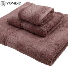 100 cotton Towel set bathtowel + facetowel + handtowel 3pcs set soft bath face towel handtowel Bathroom towel sets 17 colors cheap YOMDID CN(Origin) Plain Woven ROLL 470g TO03C Machine Washable 5s-10s Solid Plain Dyed