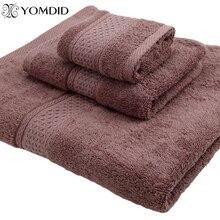 مجموعة منشفات من القطن 100% منشفة الحمام + غطاء منشفة منشفة اليد 3 قطعة/المجموعة لينة حمام الوجه منشفة منشفة الحمام طقم مناشف 17 لون