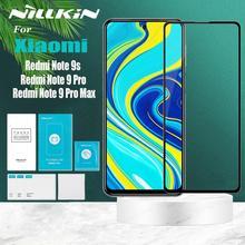 Nillkin الزجاج المقسى ل شاومي Redmi نوت 10 9 برو ماكس 9T K40 زائد التغطية الكاملة 9H واضح سلامة واقية حامي الشاشة