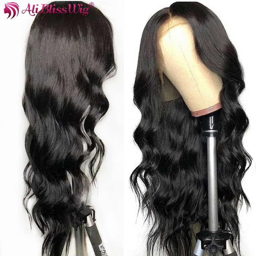 Ali Bliss Wig Body Wave Wigs 13x6 Lace Front Human Hair Wigs For Black Women Remy Lace Front wig Pre Plucked With Baby Hair