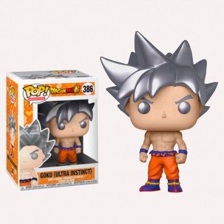 POP Amine Dragon Ball GOKU (ULTRA INSTINCT) 386 # figurine en vinyle modèle à collectionner jouets pour enfants cadeau danniversaire
