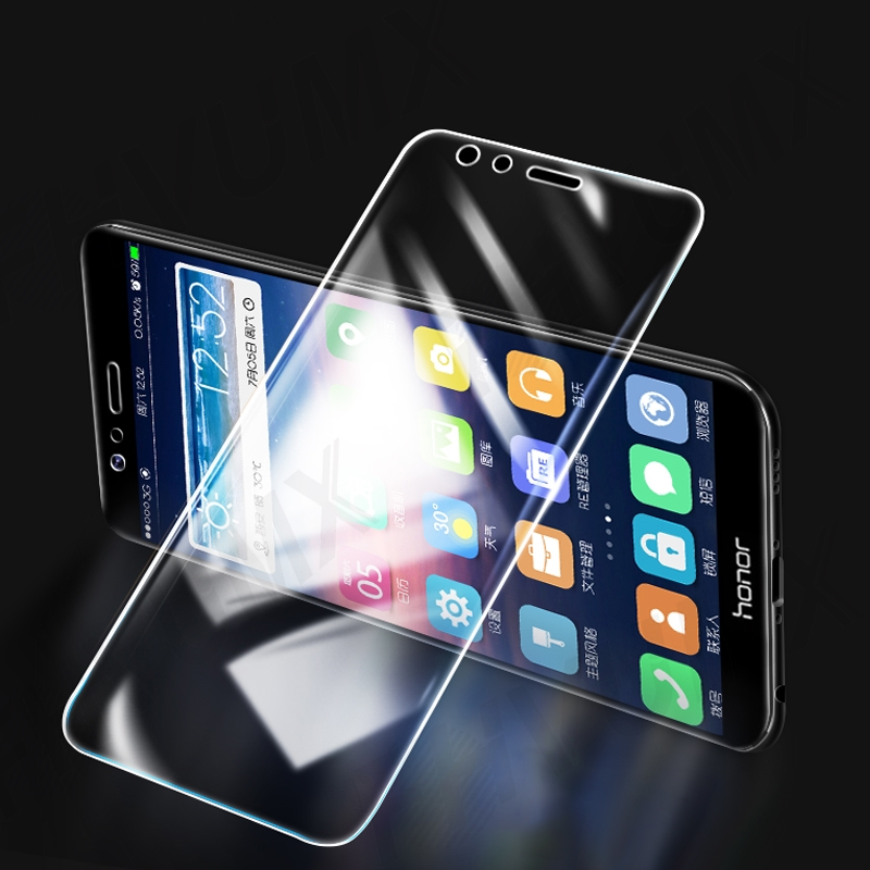 9H hardness Tempered Glass For Huawei honor 8 9 Lite V9 Play view 10 V10 Screen Protector Honor 7X 7A 7C 7S Protective Glas Film 2
