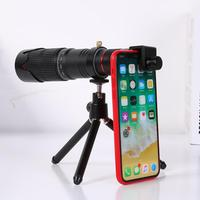 4K HD Phone Telescope 36X Zoom Phone Telephoto Lens With Tripod Remote Control Support Dropshipping