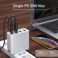 48W Quick Charger Type C USB PD Charger for Samsung iPhone XS Max Huawei iPad Pro QC 3.0 Fast Wall Charger US EU Plug Adapter