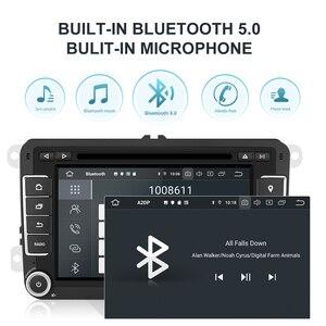 Image 5 - Isudar 2 Din Android 10 Radio For VW/Golf/Tiguan/Skoda/Fabia/Rapid/Seat/Leon Canbus Car Multimedia Player Automotivo GPS DVD DSP