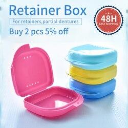 denture box retainer box denture case retainer case teeth box aligner case dental box dental case orthodontic box container