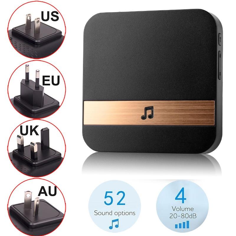 ALARMEST 1080P Tuya Smart Wifi Doorbell Camera Ring Door Bell App Intercom Motion Detector Night Vision Security Powered By Tuya