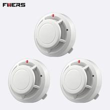 FUERS качество, независимая сигнализация, детектор дыма, пожарный, чувствительный, Домашняя безопасность, Беспроводная сигнализация, детектор дыма, датчик, пожарное оборудование