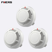 FUERS Quality Independent Alarm Smoke Fire Sensitive Detector Home Security Wireless Alarm Smoke Detector Sensor Fire Equipment