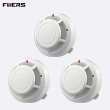 Беспроводной детектор дыма fuers автономный для домашней безопасности