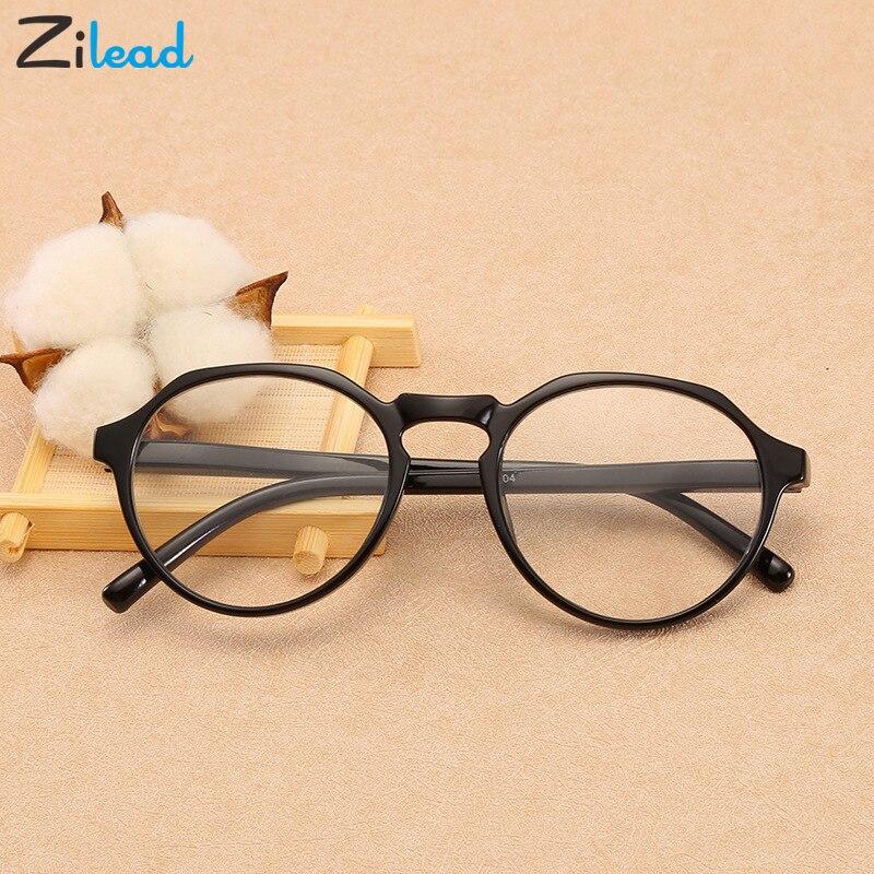 Zilead Full Frame Ultralight TR90 Gradient Reading Glasses Clear Lens Presbyopic Glasses Classical +1.0to+4.0 For Women&Men