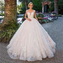 Роскошные свадебные платья принцессы бальное платье кружевные