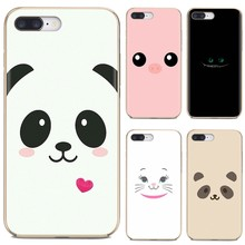 For Xiaomi Mi5 Mi5S Mi6 Mi3 Mi4 Mi4i Mi4C Redmi Note 2 3 3S 5 5A 6 6A Pro cute Animal Panda pig Smile Silicone Case(China)