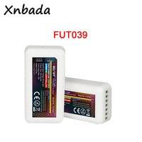 Milight fut039 rf 디 밍이 가능한 rgb cct 2a * 5ch led 컨트롤러 rgb/rgbcw/rgbww/rgb + cct led 스트립/전구/downlight DC12 24V|led controller|controller ledrf controller led -