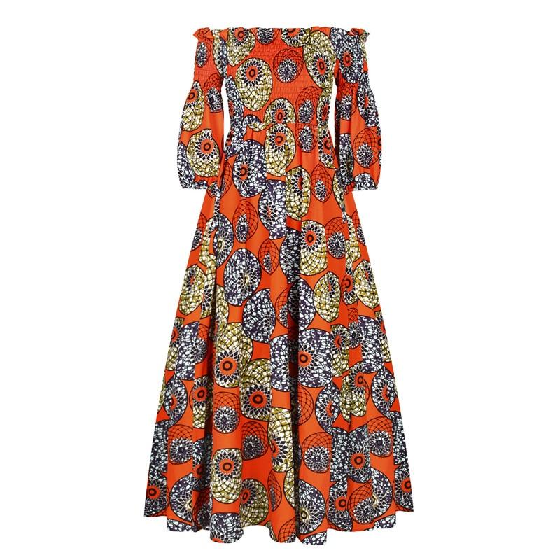Винтажное сексуальное платье для женщин, африканская одежда 2020, модные африканские платья с принтом Дашики, вечерние платья в африканском стиле для женщин|Африканская одежда|   | АлиЭкспресс