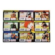 9pcs/set Dragon Ball Z Family Affection Signature Super Saiyan Goku Vegeta Hobby Collectibles Game Anime Collection Cards