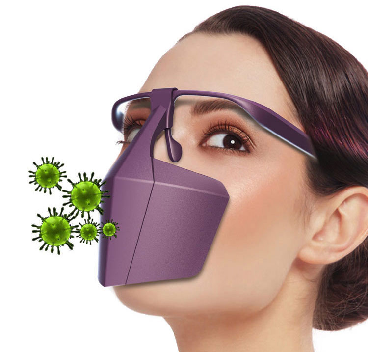 Adult Mouth Mask Windproof  Face Masks For Men Women Droplet Proof Mouth Masks Isolation Screen Protective Safety Face Shield