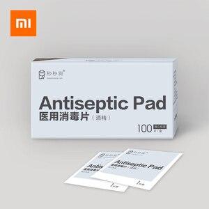 Image 1 - 100 шт., антисептические салфетки для дезинфекции кожи Xiaomi
