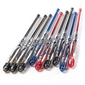 Image 5 - 6 adet Pentel BG202 japonya premium sıvı mürekkep 0.25mm jel kalem Slicci yazma hızlı kuruyan finans kalem ile hassas dayanıklı ucu