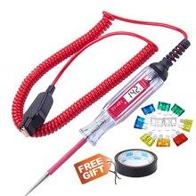 Universal 3 48V Digital Power Sonde Multi Funktion Sicherung Linie Batterie Spannung Circuit Test Stift Elektroskop Automotive Scanner