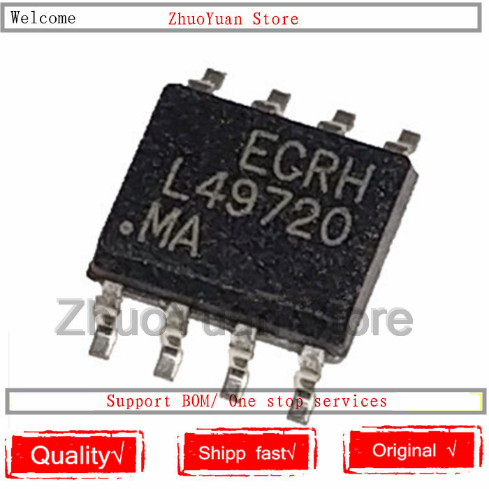1PCS/lot New Original LME49720 LME49720MA L49720MA LME49720MAX  L49720 SOP-8 IC Chip