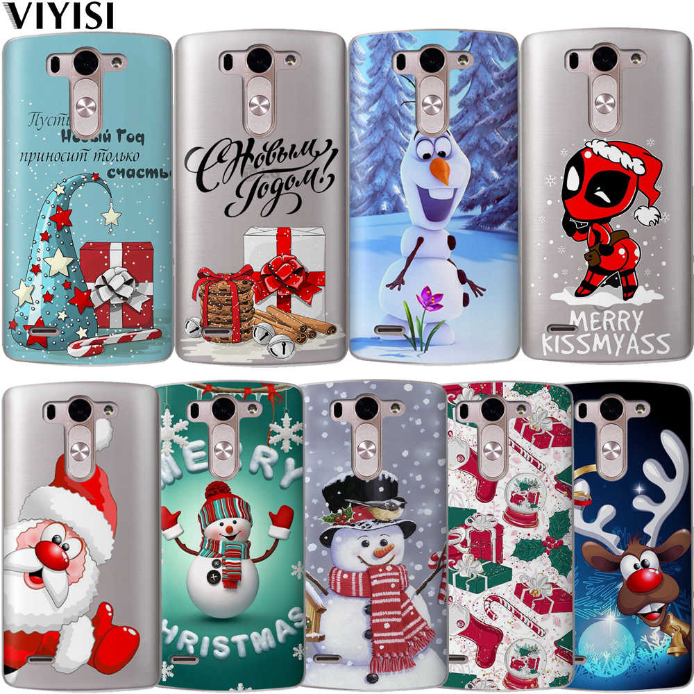 Phone Case Cute Deadpool Christmas snowmanFor LG G6 Q6 G3 G4 G5 G7 XPower 2 3 V30 Q8 K4 K7 K8 K10 2017 Etui Coque Soft Silicone
