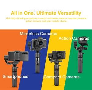 Image 3 - Zhiyun guindaste m2 3 axis handheld cardan câmera estabilizador para câmeras mirrorless ação pk guindaste 2 gopro hero 5 6 7 smartphone
