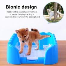 Pet Eğitim Tuvalet Taşınabilir Köpek Kedi Lazımlık Tepsi Pet Eğitim kum kabı Çit Ile Kapalı Açık Kullanım Pet Malzemeleri