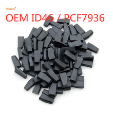 RIOOAK New car key transponder chip 10PCS  OEM id46 PCF7936 transponder chip best quality  for Hyundai for Peugeot for Citroen