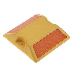 1 шт. новый коммерческий 2-сторонняя отражатель дорожного покрытия маркер-желтый