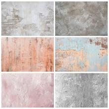 Laeacco Brick muro di cemento fondali tinta unita gradiente Vintage ritratto fotografia sfondi per Studio fotografico fotofono