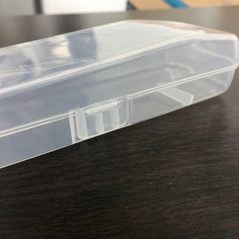 男性ユニバーサルシェーバー収納ボックスハンドルボックスフル透明プラスチックケースかみそりボックスズエコフレンドリー pp シェービングボックス高品質