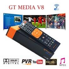 Best 1080P DVB-S2 GTmedia V8 nova CCcam Cline Spain Satellite TV Receiver Support DLNA SAT To IP Built-in WIFI module