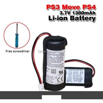 Batería recargable de 3,7 V, 1380mAh para Sony PS3 Move PS4 Play Station, batería de máquina de juego LIS1441 LIP1450