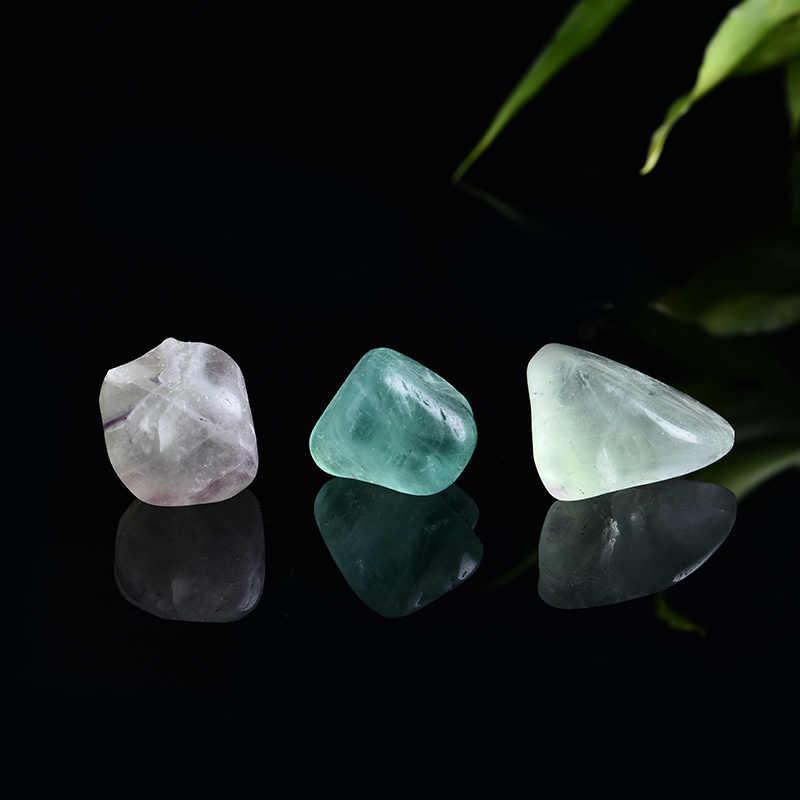 1PC ธรรมชาติ fluorite คริสตัลควอตซ์คริสตัล Magic Repair Healing คริสตัลสามารถใช้สำหรับตกแต่งบ้าน DIY ของขวัญ